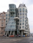 Fred and Ginger by Frank Gehry. Prague, Czech Republic
